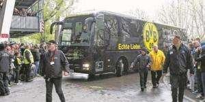 Explosions, Borussia Dortmund-Monaco maçı öncesi patlama