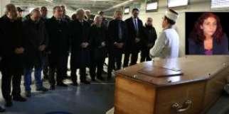 Gazeteci Gülten Özbey Paris'ten Ebedi-Ahret yurduna uğurlandı