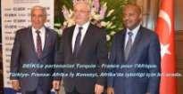 Paris büyükelçiliği: DEİK/Türkiye-Afrika İş Konseyi, paris'te işbirliği zirvesi düzenledi.