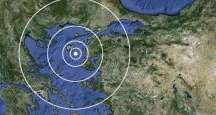 Ege'de 6,2 şiddetinde deprem