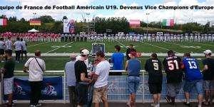 Équipe de France de Football Américain U19, Vice Champions d'Europe