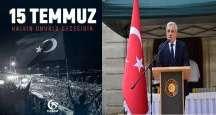 TC Paris Büyükelçiliğin'de 2016-15 Temmuz Demokrasi, Milli Birlik ve şehitleri anma Günü düzenlendi