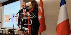 Célébration au Pavillon Royal à Paris du 96e anniversaire de la proclamation de la République de Turquie