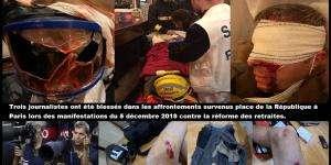 La brutalité policière comme unique réponse aux contestations sociales.