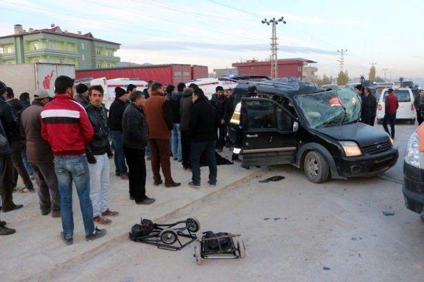 Ağrı'da feci kaza: 7 ölü, 1 yaralı var