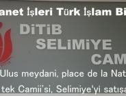 DİTİB:Parıs'te bulunan tek Camii'si, Nation Selimiye Camii'yi satışa çıkradı.