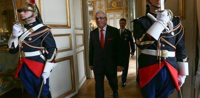 """Paris Büyükelçisi, İsmail Hakkı Musa """"Güven Mektubu""""nu  Hollande'a sundu"""
