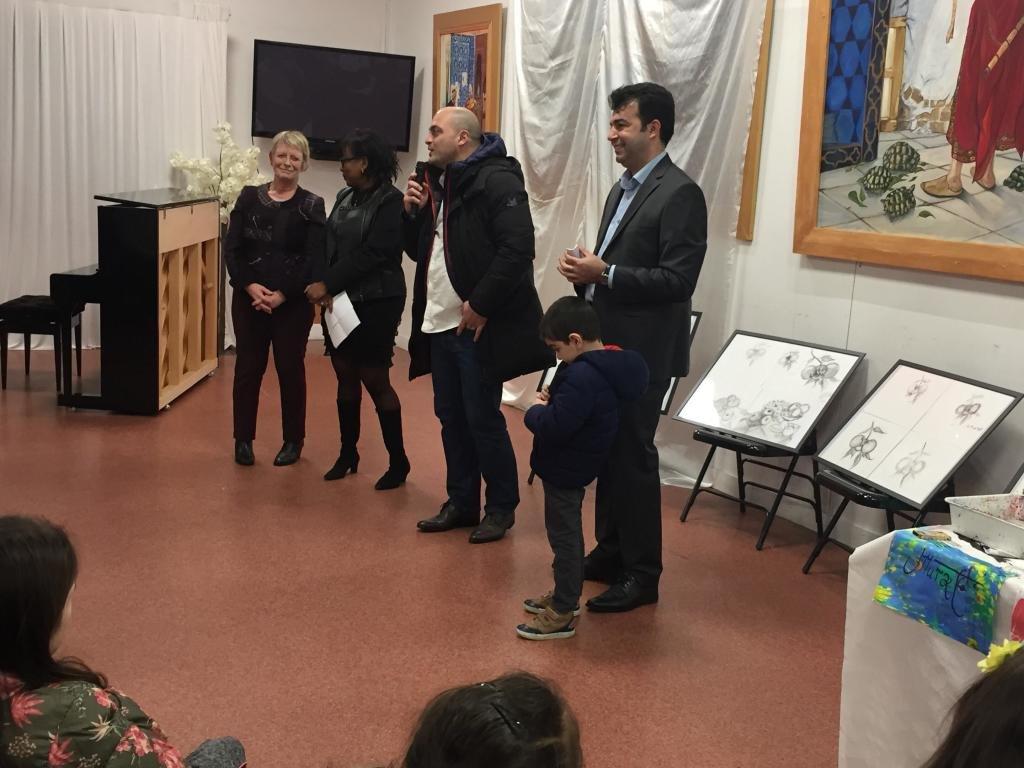 A l'occasion aux vœux de la nouvelle année 2019. l'association culturelle franco-turque du Val-de-Marne. Yunus Emre Valenton-19