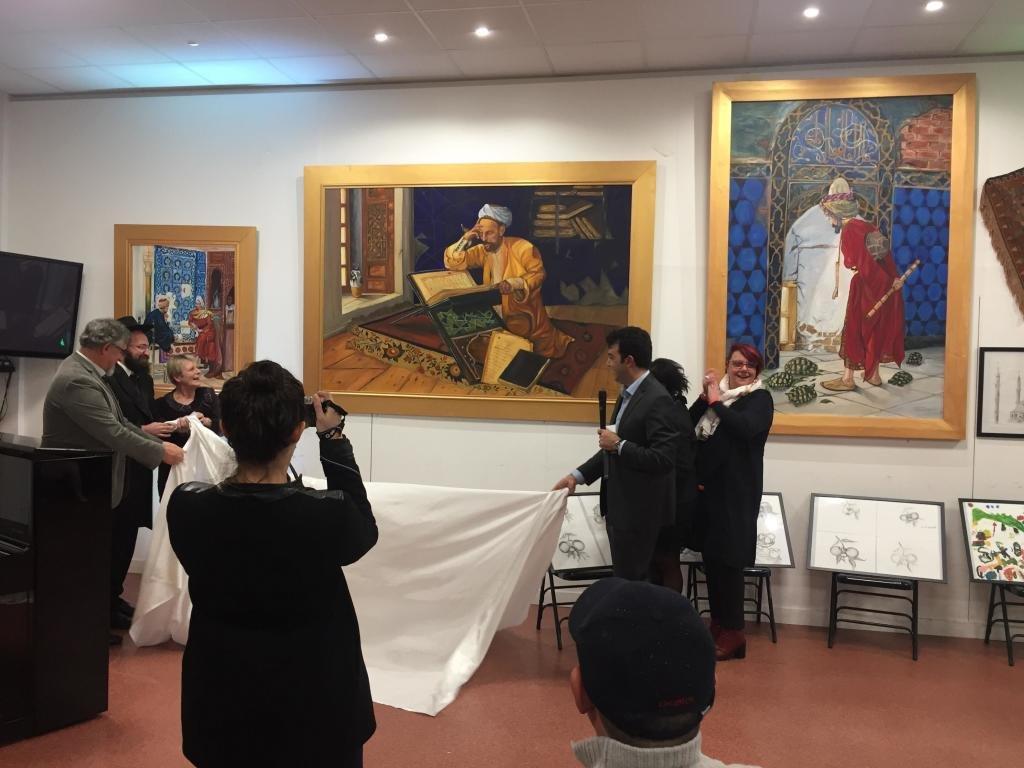 A l'occasion aux vœux de la nouvelle année 2019. l'association culturelle franco-turque du Val-de-Marne. Yunus Emre Valenton-21
