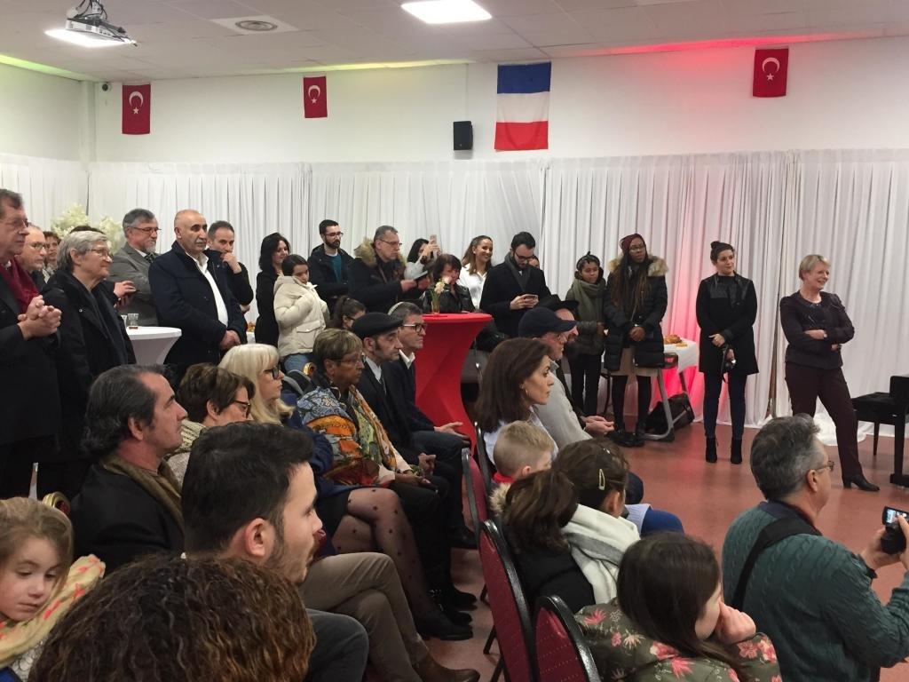 A l'occasion aux vœux de la nouvelle année 2019. l'association culturelle franco-turque du Val-de-Marne. Yunus Emre Valenton-24